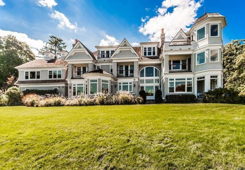 House plans 2 bedrooms 2 bathrooms - 5 995 Million Waterfront Shingle Style Mansion In
