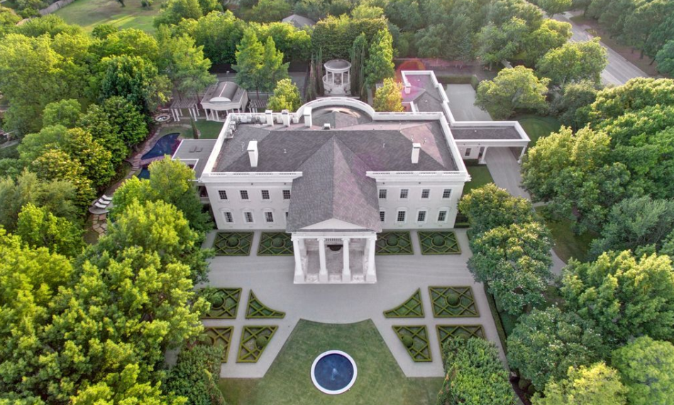 The Dallas White House Homes Of The Rich