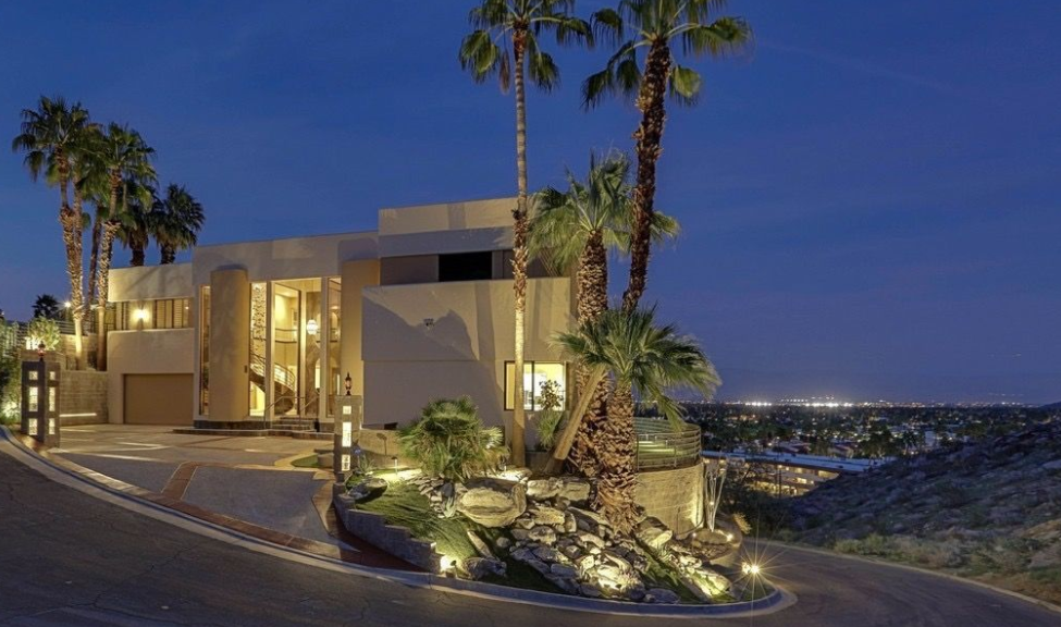 Rent this palm springs home for 85 000 month homes of for Palm springs homes rentals