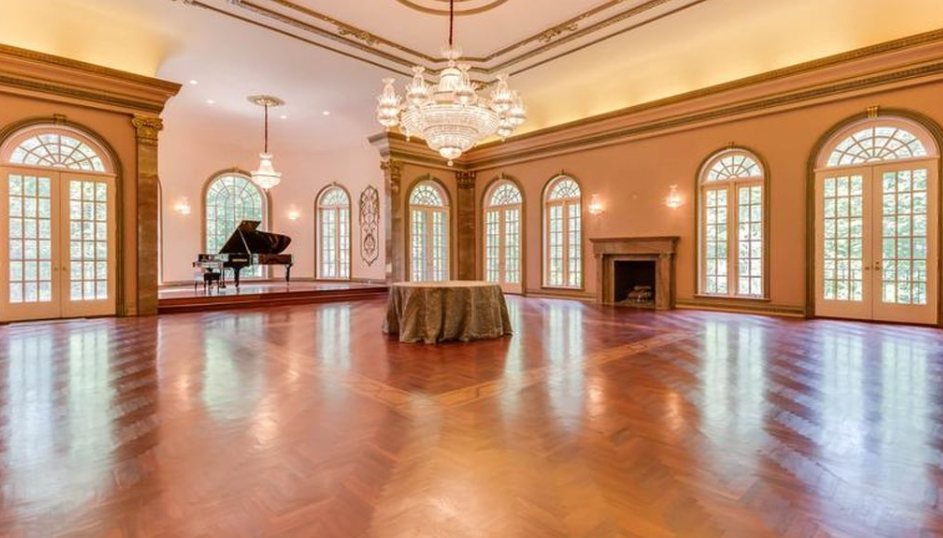 15 000 square foot mansion in mclean va with stunning for Mansion floor plans with ballroom