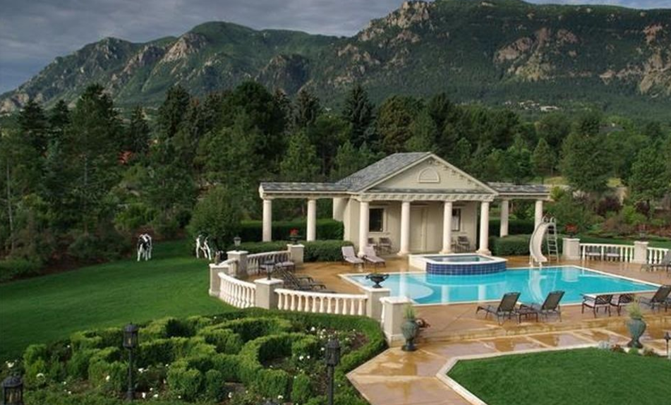 exquisite french style mansion in colorado springs co