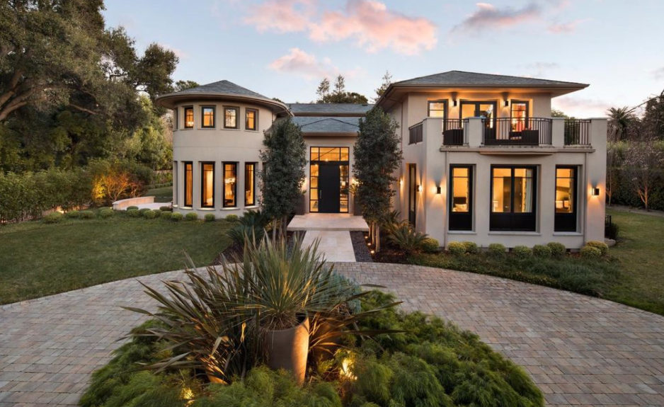 $18 Million Contemporary Style Mansion In Atherton, CA