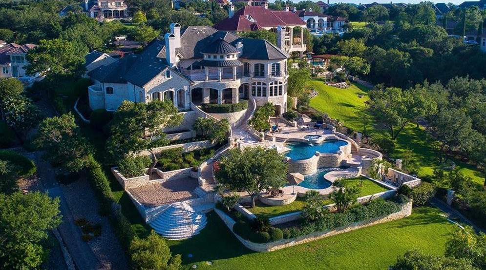 13 000 Square Foot Lakefront Mansion In Austin Tx Homes
