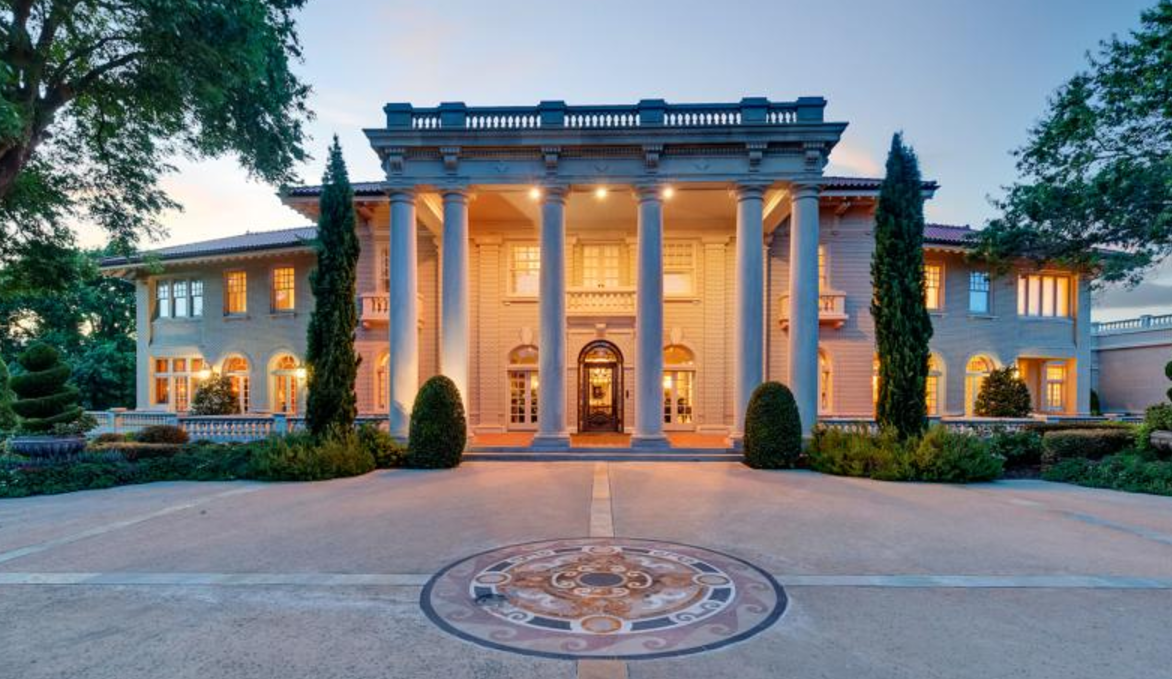Historic 13 000 square foot mansion in fort worth tx for Home building cost per square foot texas