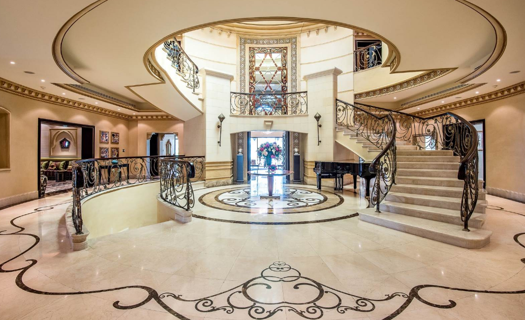 28 000 Square Foot Mega Mansion In Dubai Homes Of The Rich