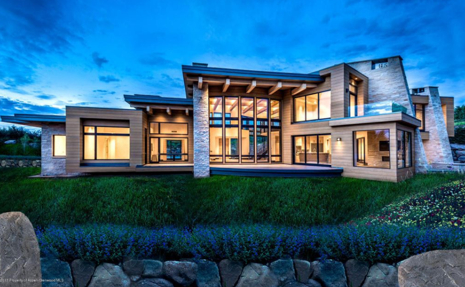$21.9 Million Newly Built Contemporary Style Mansion In Aspen, CO ...