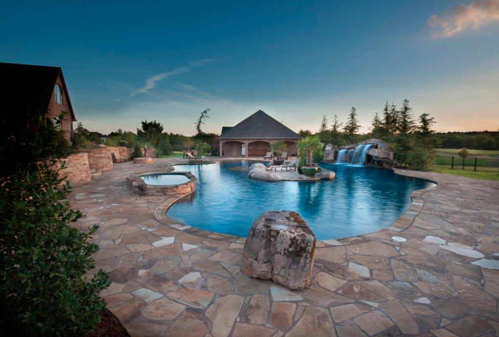 Caviness landscape design inc homes of the rich for Kenny pool design