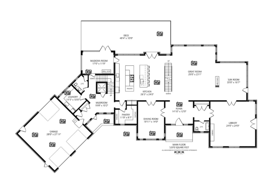 Newly built contemporary style waterfront mansion in for 16 brookers lane floor plans