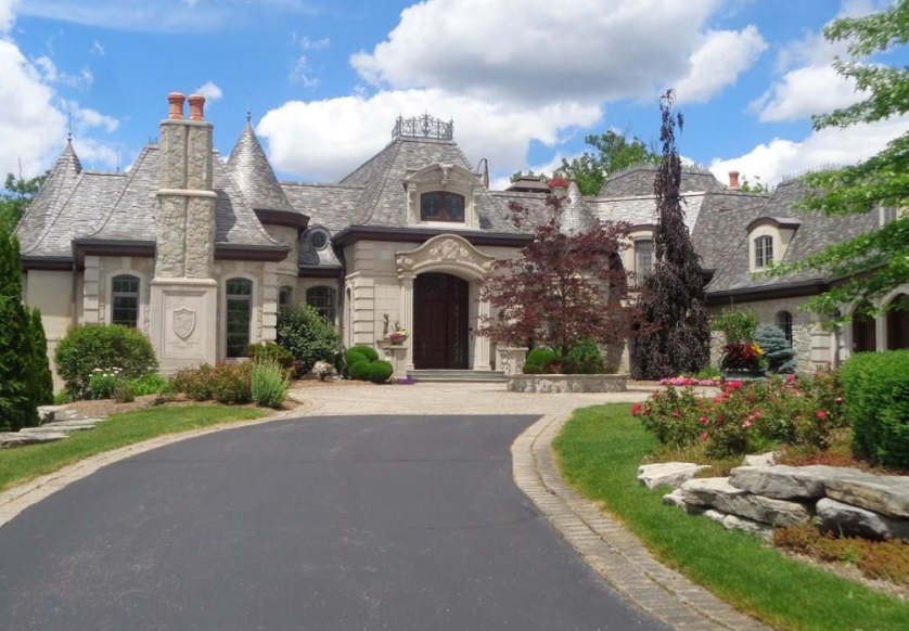 8 5 million lakefront mansion in orchard lake michigan - House of bedrooms bloomfield hills mi ...