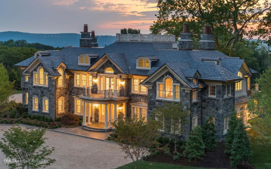 18 000 Square Foot Newly Built Stone Mansion In Tarrytown