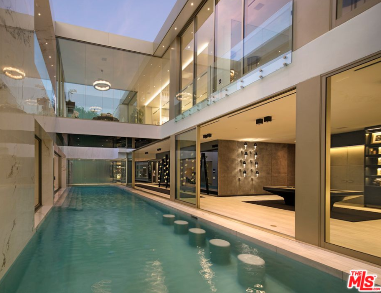 Opus A 100 Million Newly Built Modern Home In Beverly