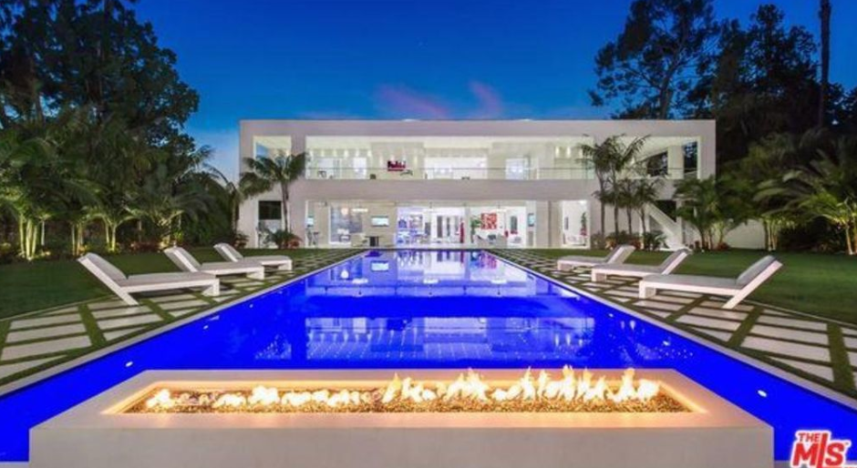 45 million modern mansion in beverly hills california for Modern mansions in beverly hills