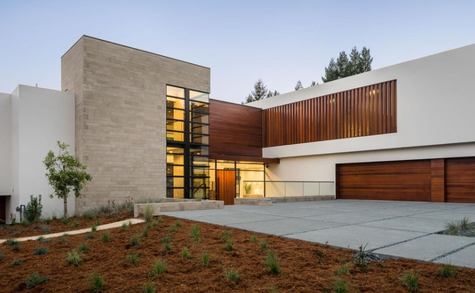 California Contemporary Homes $13.8 million newly built contemporary style home in hillsborough