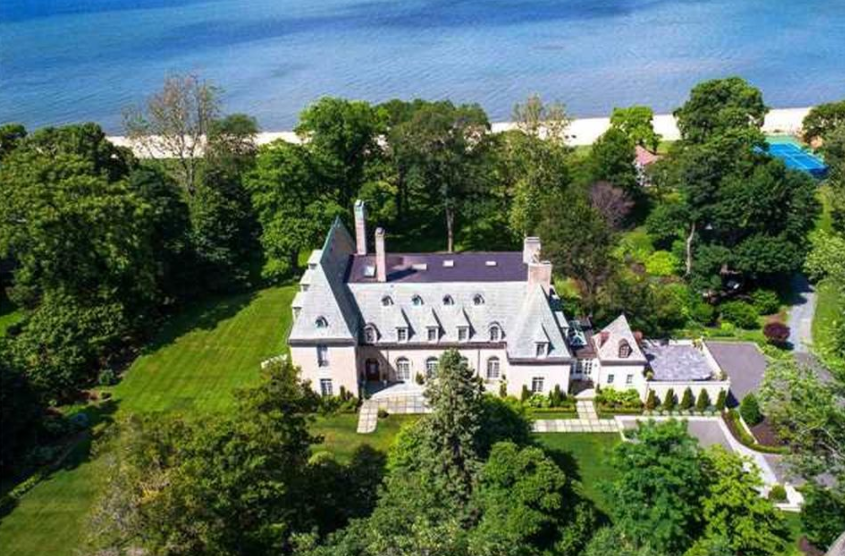 16 8 million historic waterfront estate in sands point