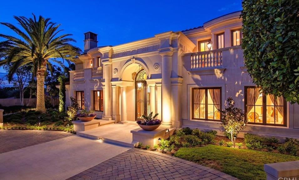 10 985 Million Mediterranean Style Mansion In Newport