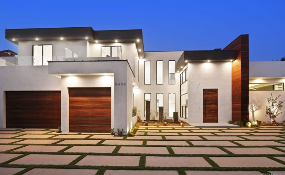 Newly Built Contemporary Style Home In Encino, California | Homes of ...