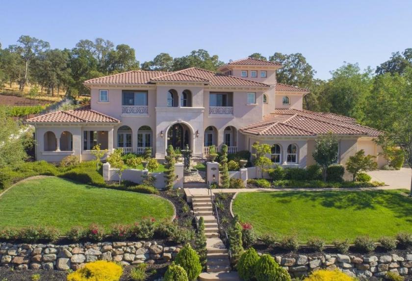 2 Million Mediterranean Style Home In El Dorado Hills