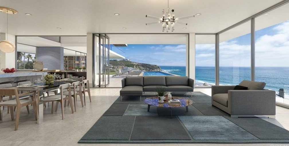 $40 Million Proposed Modern Mansion In Dana Point