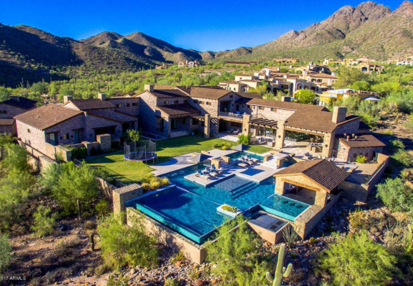 10 5 Million Newly Built Stone Estate In Scottsdale