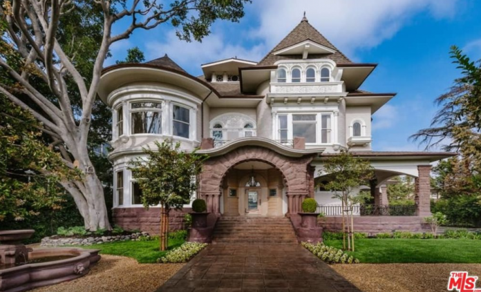 12 000 square foot historic mansion in los angeles for Historical homes in los angeles