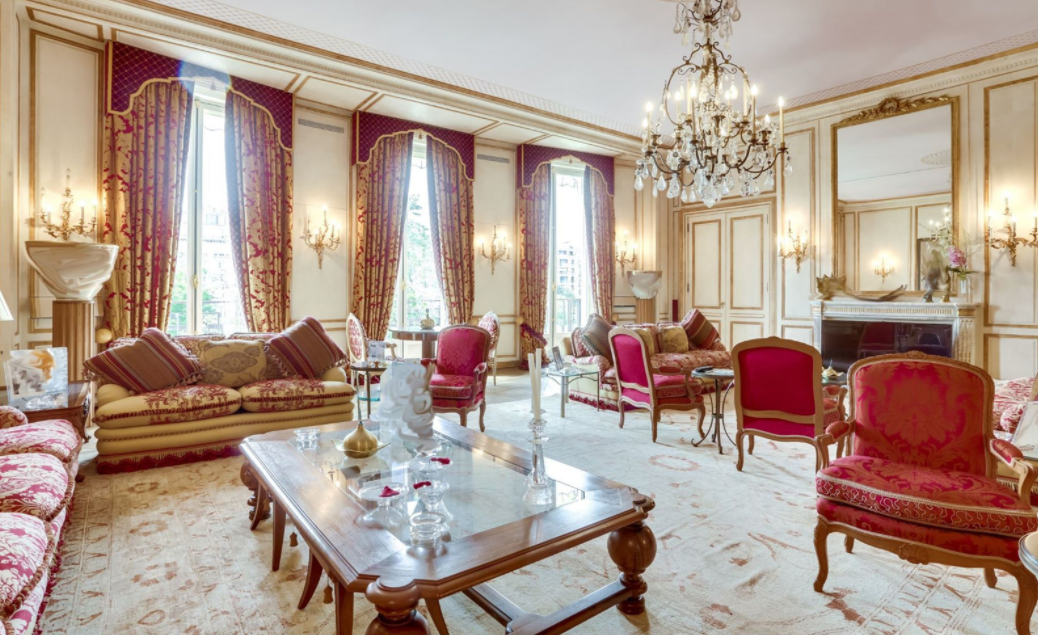 Luxurious Apartment In Paris France Homes Of The Rich