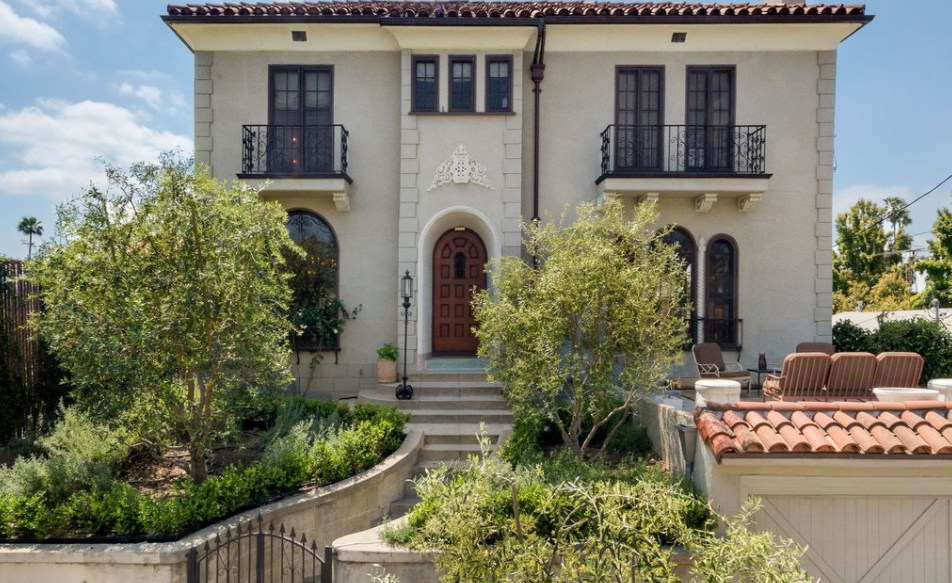 Million historic home in los angeles california for Historical homes in los angeles