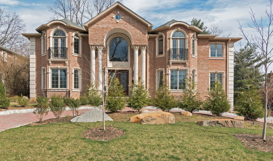 Newly Built Colonial Style Brick Home In Englewood Cliffs New
