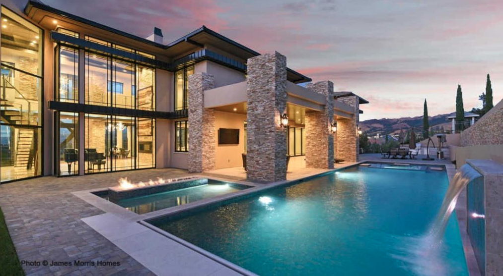 Contemporary Style Mansion In San Jose California Floor Plans Homes Of The Rich