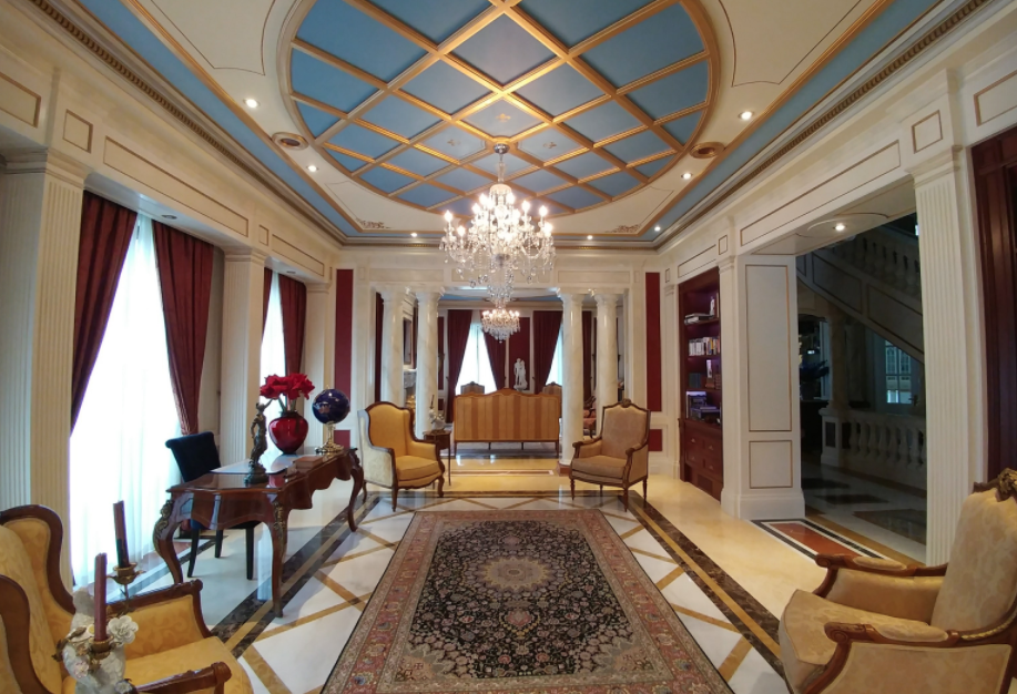 24 000 square foot limestone mega mansion in toronto for 10 foot living room