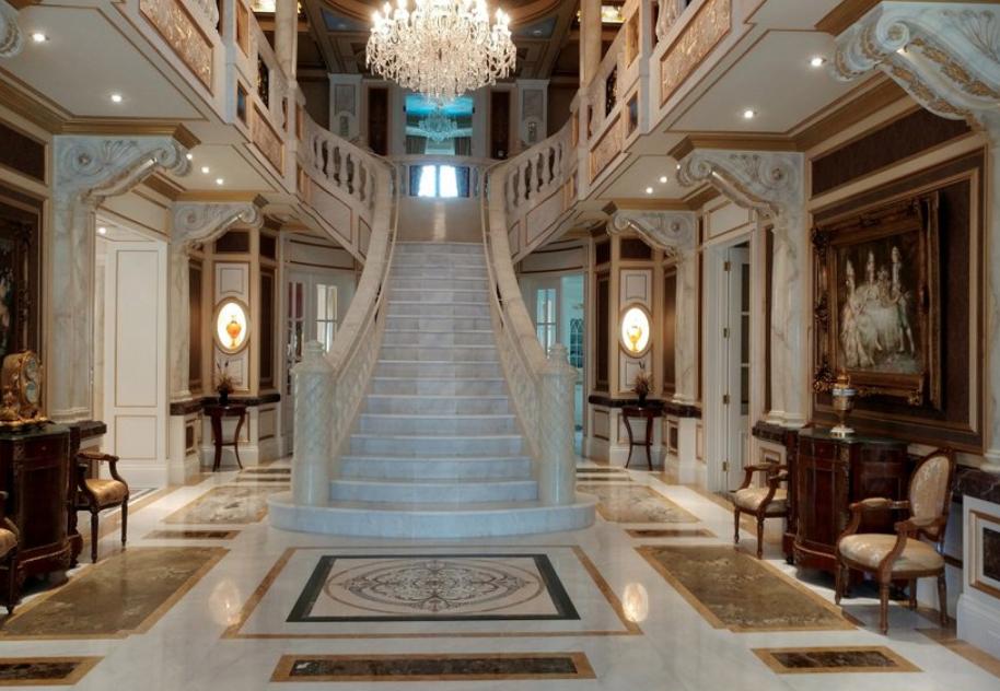 24 000 Square Foot Limestone Mega Mansion In Toronto