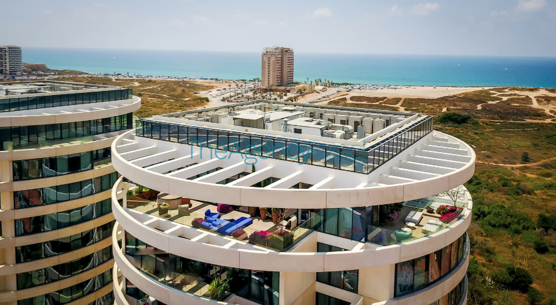 22 Million Modern Penthouse In Tel Aviv Israel Homes Of The Rich