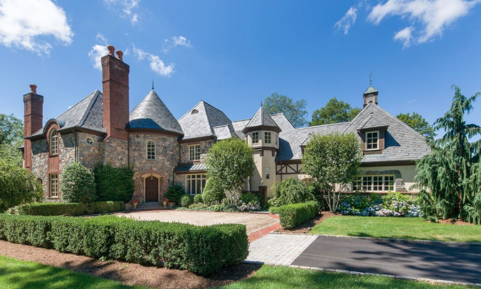 English Manor Style Home In North Castle, New York   Homes ...