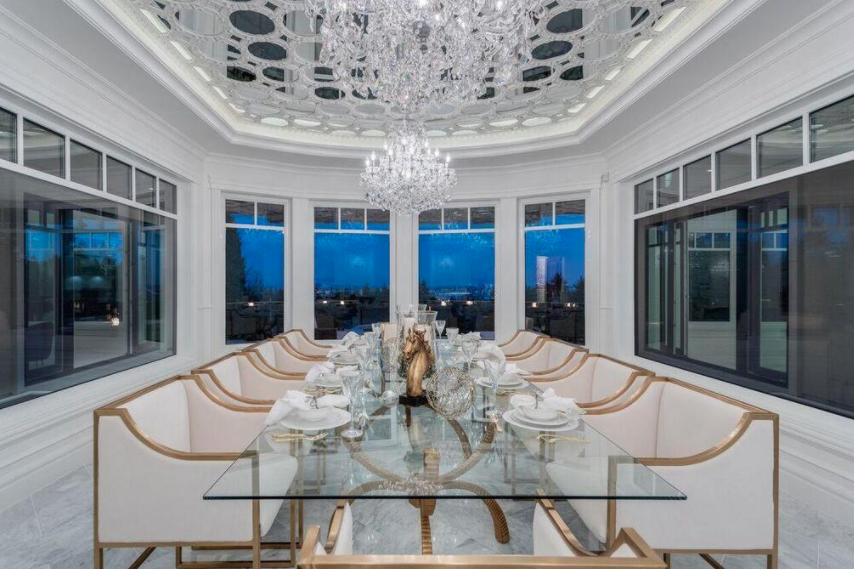 12 000 square foot newly built mansion in west vancouver for 10 x 11 room square feet