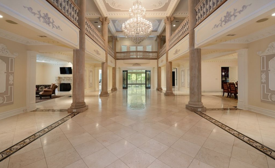 25 000 Square Foot New Jersey Mega Mansion Re Listed