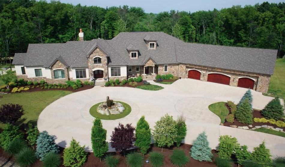 21 000 Square Foot Mansion In Strongsville Ohio Homes