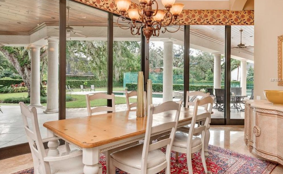 10 000 square foot lakefront mansion in winter park for 10 x 11 room square feet