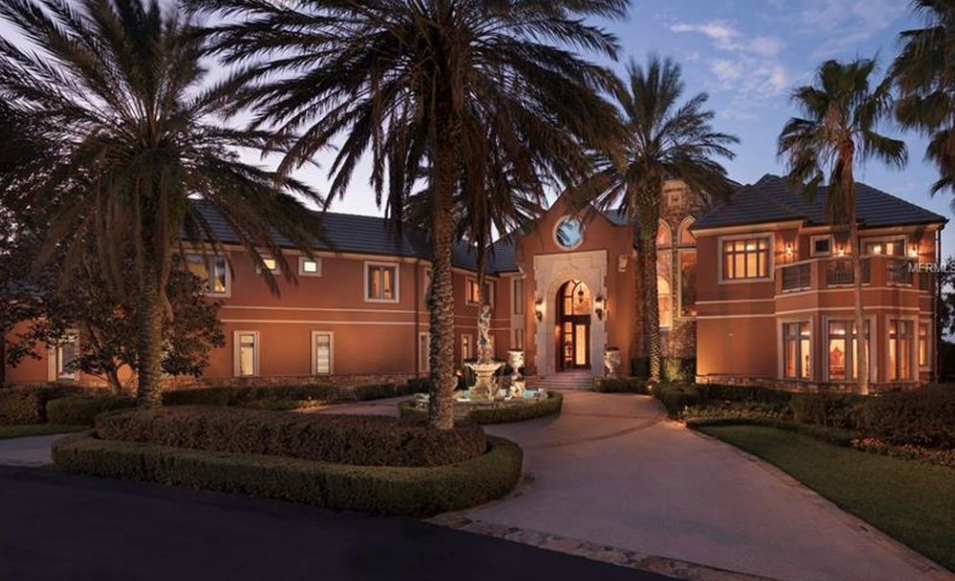 Lakefront Mansion In Orlando Florida Homes Of The Rich