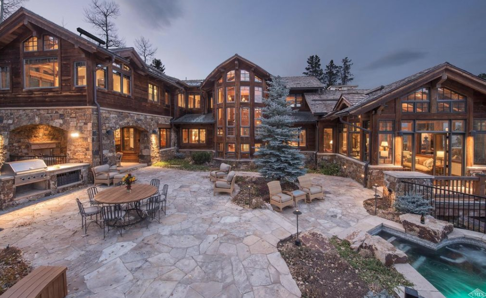 13 95 Million Wood Amp Stone Mansion In Beaver Creek