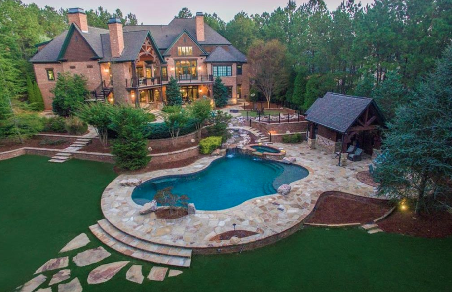 13 000 Square Foot Mansion In Suwanee Georgia Homes Of