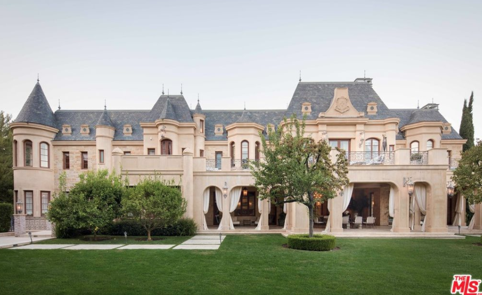 45 Million French Chateau In Beverly Hills California
