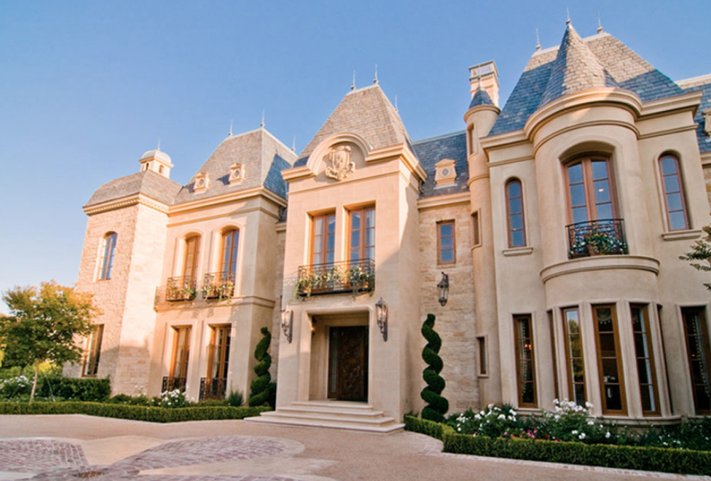 45 million french chateau in beverly hills california for Luxury french chateau