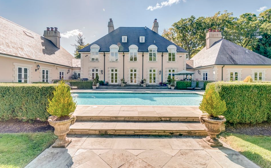 10000 Square Foot French Country Style Mansion In Lake Forest
