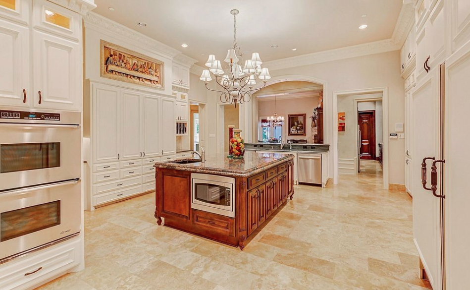 17000 Square Foot Stone Mansion In Colleyville Texas