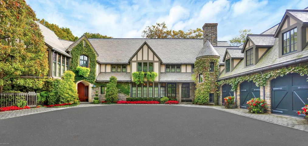 English Tudor Style Mansion In Greenwich Connecticut Floor Plans Homes Of The Rich