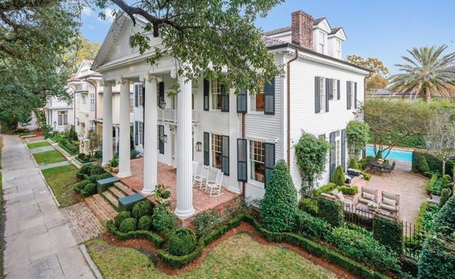 Orleans Home Builders Floor Plans: Neoclassical Revival Style Home In New Orleans, Louisiana