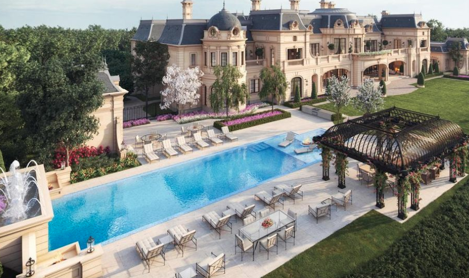 Proposed 56 000 Square Foot Beverly Hills Mega Mansion