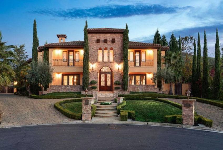 Tuscan Style Home In Alamo California Homes Of The Rich