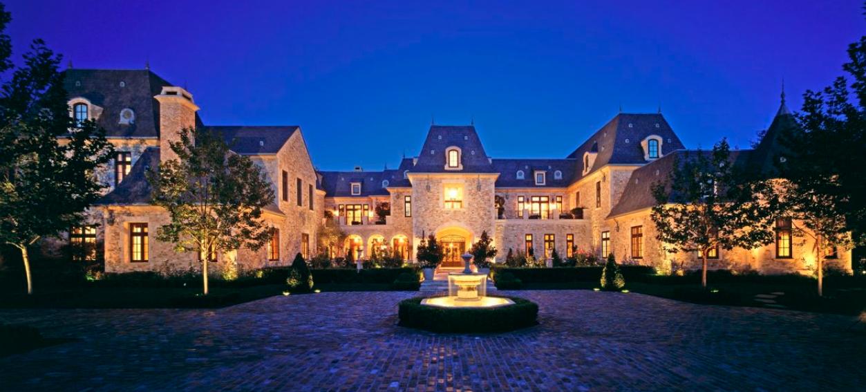 95 Million Stone Mega Mansion In Beverly Hills