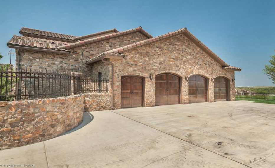 Stone And Stucco Homes Texas : Tuscan style stone stucco home in amarillo texas