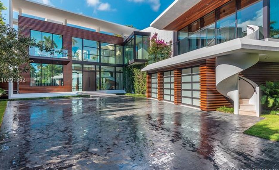 38 Million Newly Built Waterfront Mansion In Miami Beach